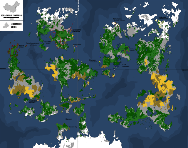 Global Federation Map V1.5 GFmap_Nov