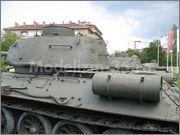 Советский средний танк Т-34-85, производства завода № 112,  Военно-исторический музей, София, Болгария 34_85_053