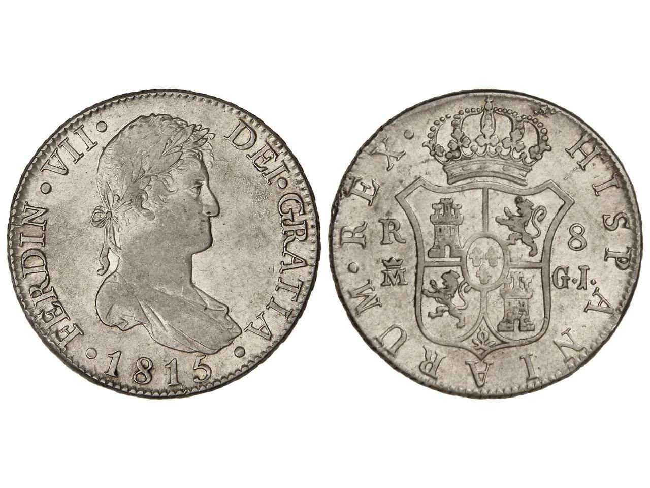 8 reales 1815 Fernando VII, Madrid. 1292q