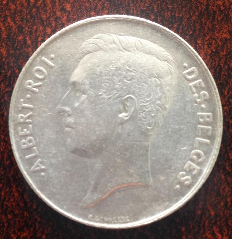 1 Franc. Belgica. 1912. Bruselas IMG_1330