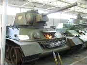 Советский средний танк Т-34,  Muzeum Broni Pancernej, Poznań, Polska 34_041