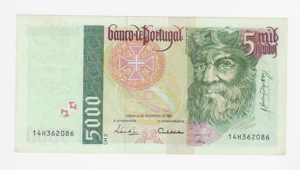 5000 escudos Portugal 1997 5000_escudos_1997