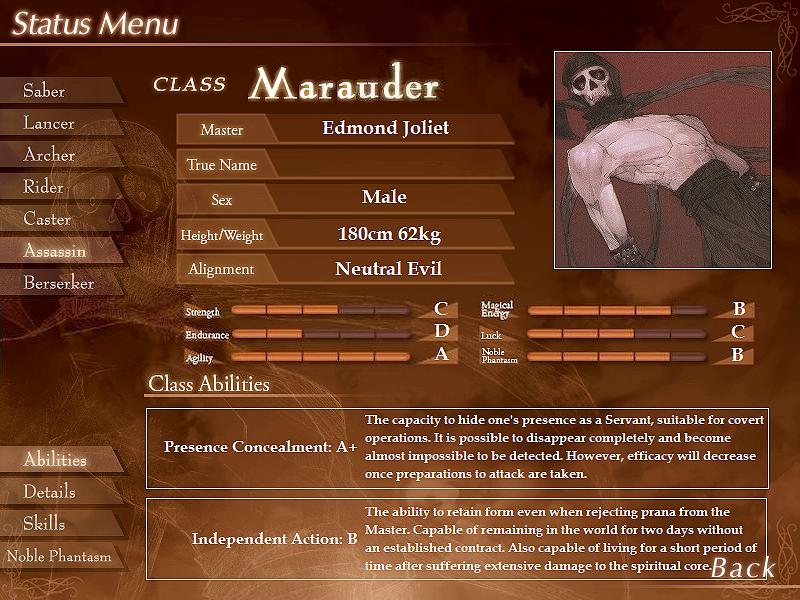 The Grail Games OOC Marauder_status
