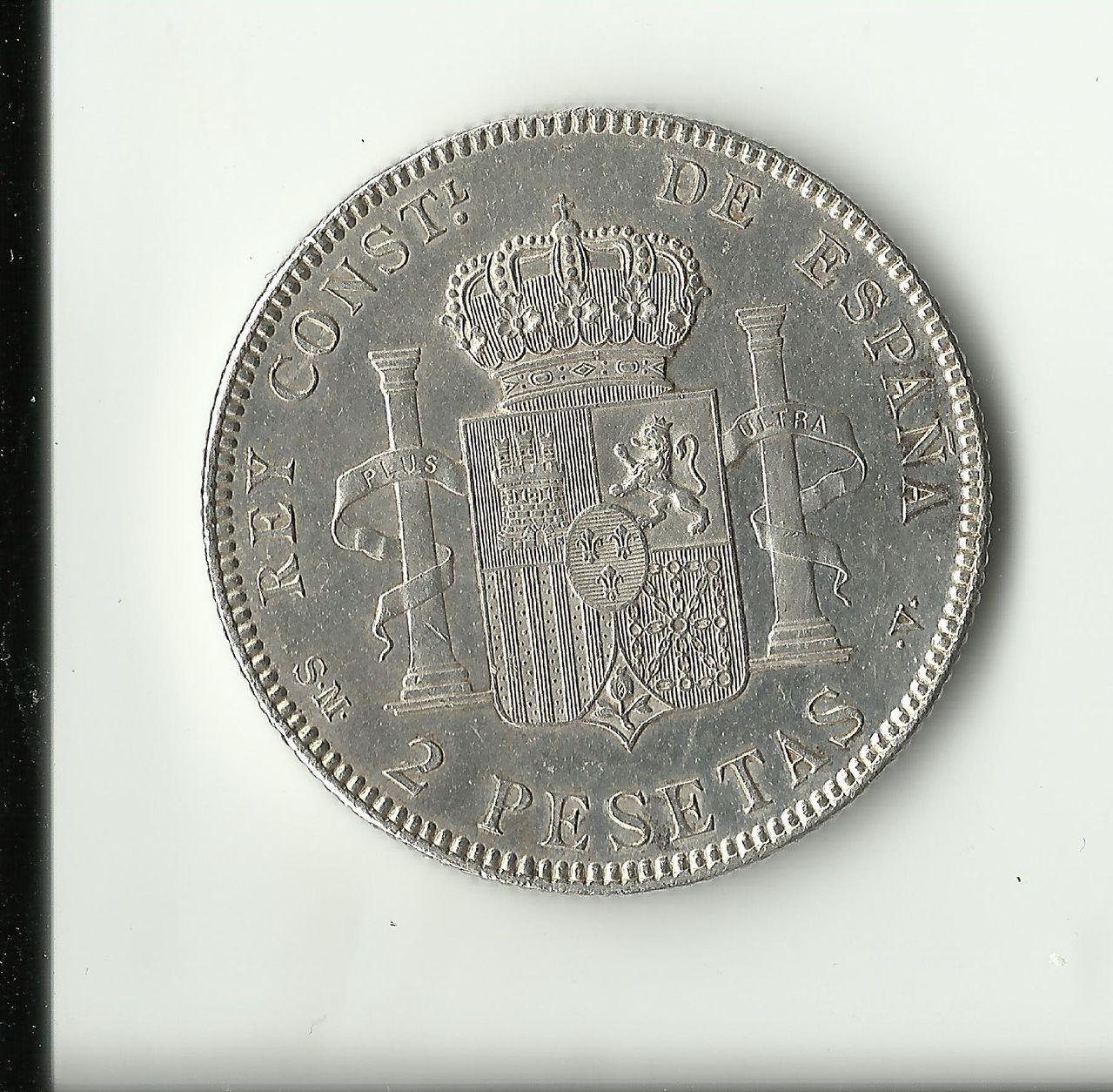 2 pesetas 1905 *19*05 2_pesetas_1905_anv