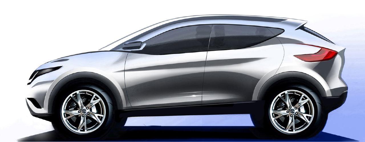 [Présentation] Le design par Nissan / Infiniti Nissan_qashqai_sketch_17