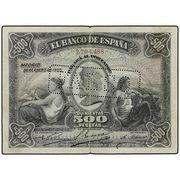 500 pesetas 1907 Medallón Ebay 372_euros_comisi_n_incluida