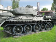 Советский средний танк Т-34-85, производства завода № 112,  Военно-исторический музей, София, Болгария 34_85_057