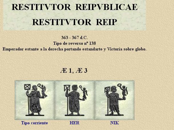 Silicua de Prisco Atalo RESTITVTIO REIP - Narbona Dibujo