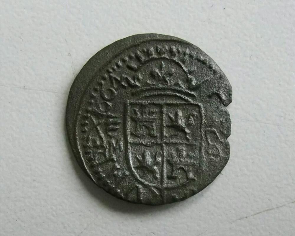 Para efímera 8 maravedis Felipe IV ceca de Valladolid. IMG_20161013_222504