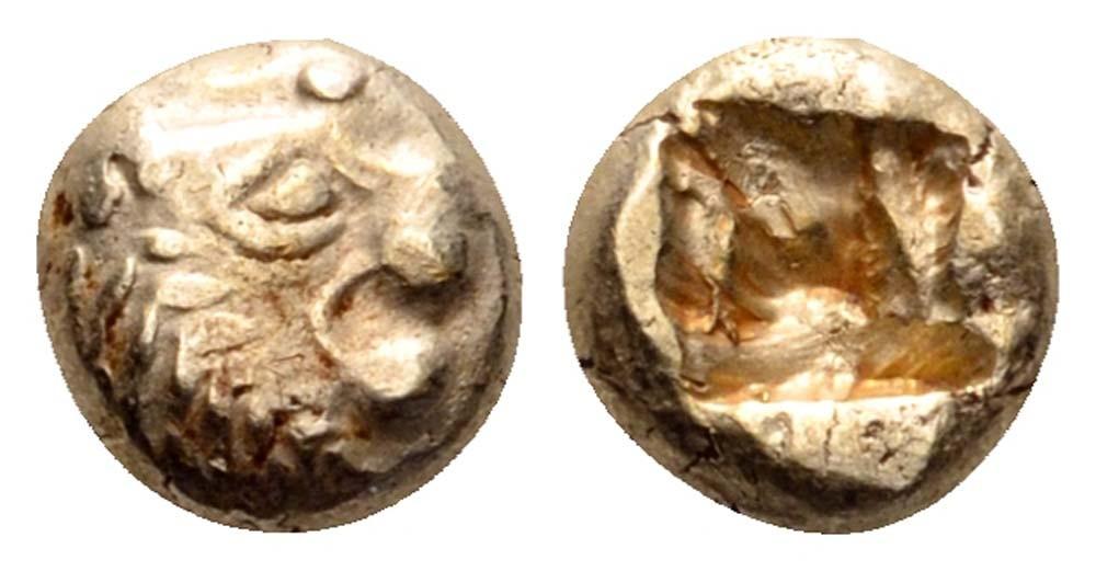 1/12 Estatera. Aliates. Reino de Lidia. 610-560 A.C. Sardes. Un_doceavo_de_estatera_de_Aliates_sardes_lidia