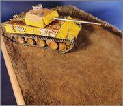 PzKpfw V Panther из роты Сотникова № 518. Звезда 1/35. ГОТОВО DSCN1662