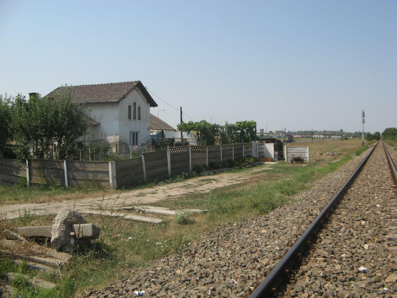 Calea ferată directă Oradea Vest - Episcopia Bihor IMG_0064