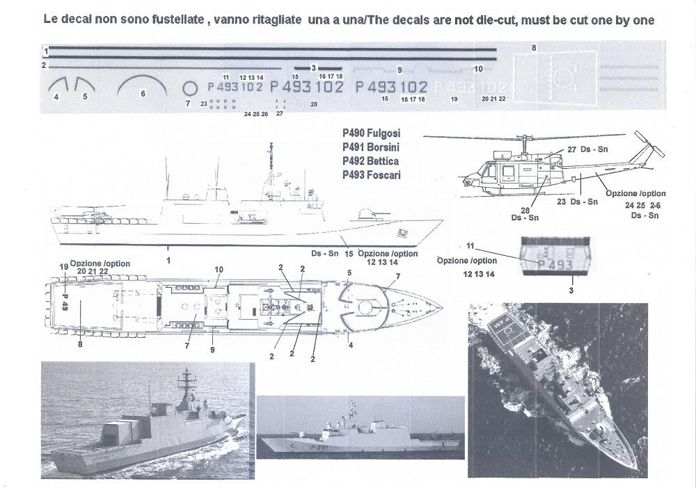 Foscari P493, Patrouilleur de la Classe Cigala Fulgosi 1/700 RM_022_Cigala_Fulgosi_01a