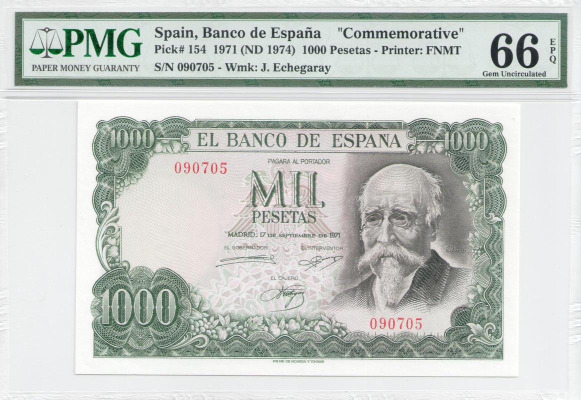 Colección de billetes españoles, sin serie o serie A de Sefcor - Página 3 1000_ptas_71_anverso