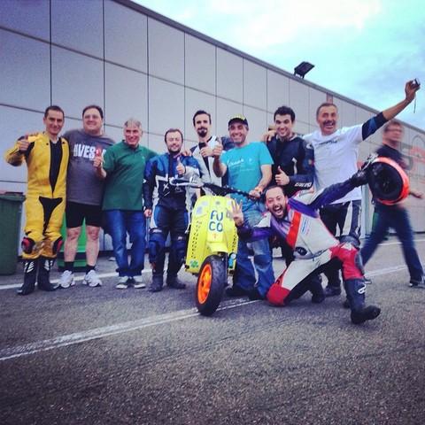 10 Horas Scootentole Magny Cours (FRA) 27-28 septembre 2014 MAGNY_COURS_2014_Grupo