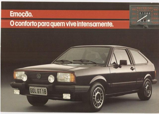 Auto Storiche in Brasile - FIAT Gol_GT_1986_1