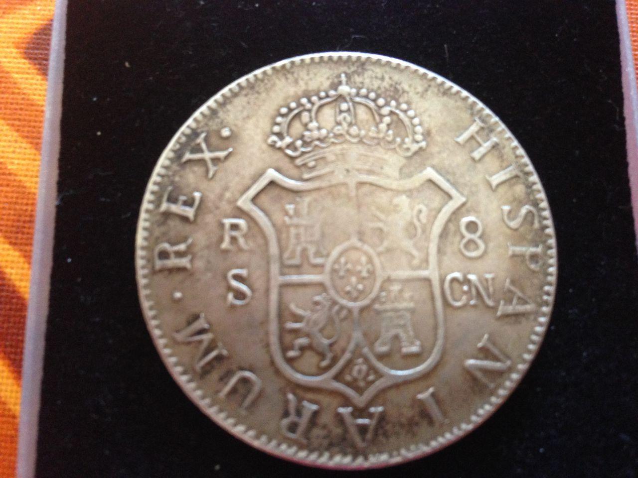 Fernando VII 1809 - Muchas papeletas para ser falsa  IMG_0990