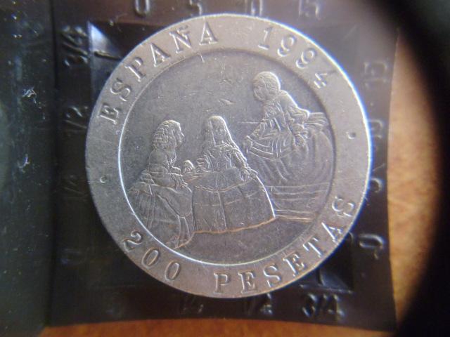 I aniversario numismario: 200 pesetas Maestros de la pintura 1994 P1100950
