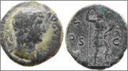 As dedicado a Lanzarote. Hadriano. COS III P P S C. Roma. Hadriano_as