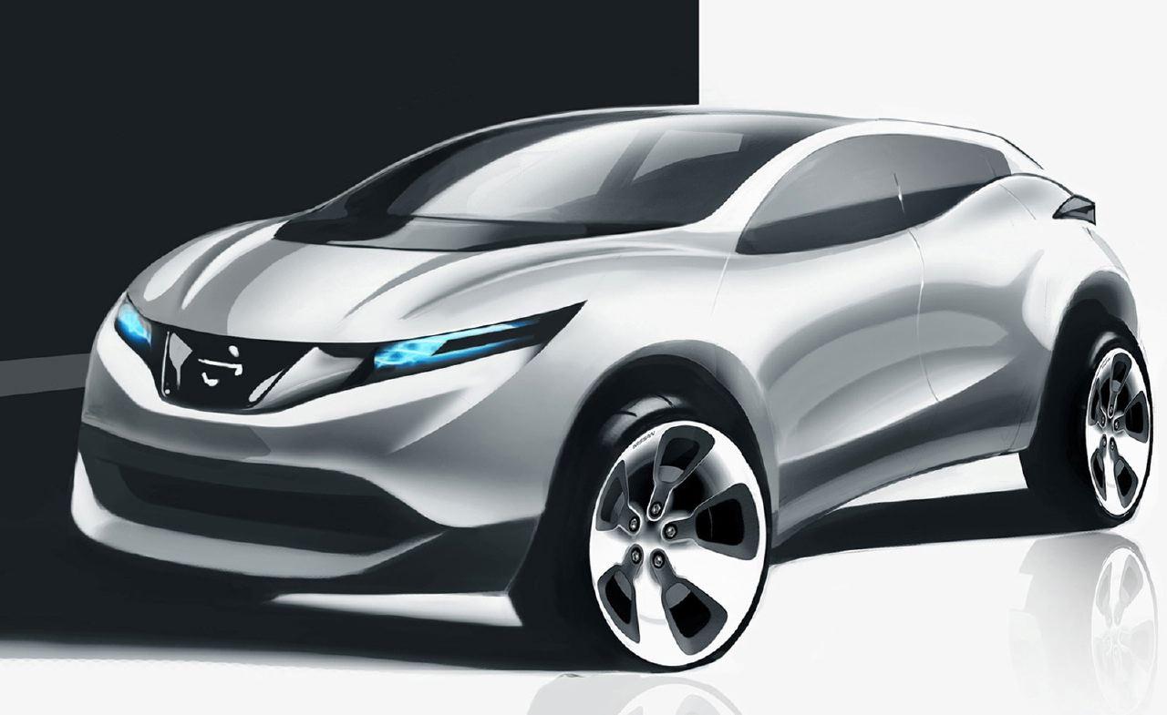 [Présentation] Le design par Nissan / Infiniti Nissan_qashqai_sketch_14
