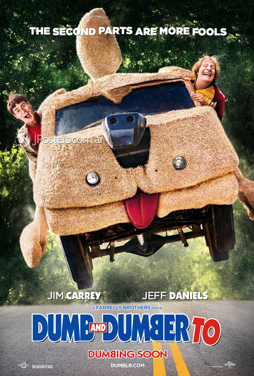 Dumb and Dumber To (Dos tontos todavía más tontos) (2014) Dumb_And_Dumber_To_Poster