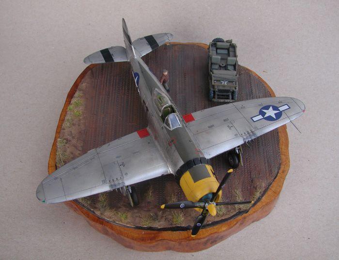 P-47D-30RE Thunderbolt, Revell, 1/72 DSC03173
