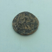 AE3 de Constantino I Magno. SOLI INVIC-TO COMITI. Sol radiado, estante a  izq. Ceca Arles. 20170130_145754_1