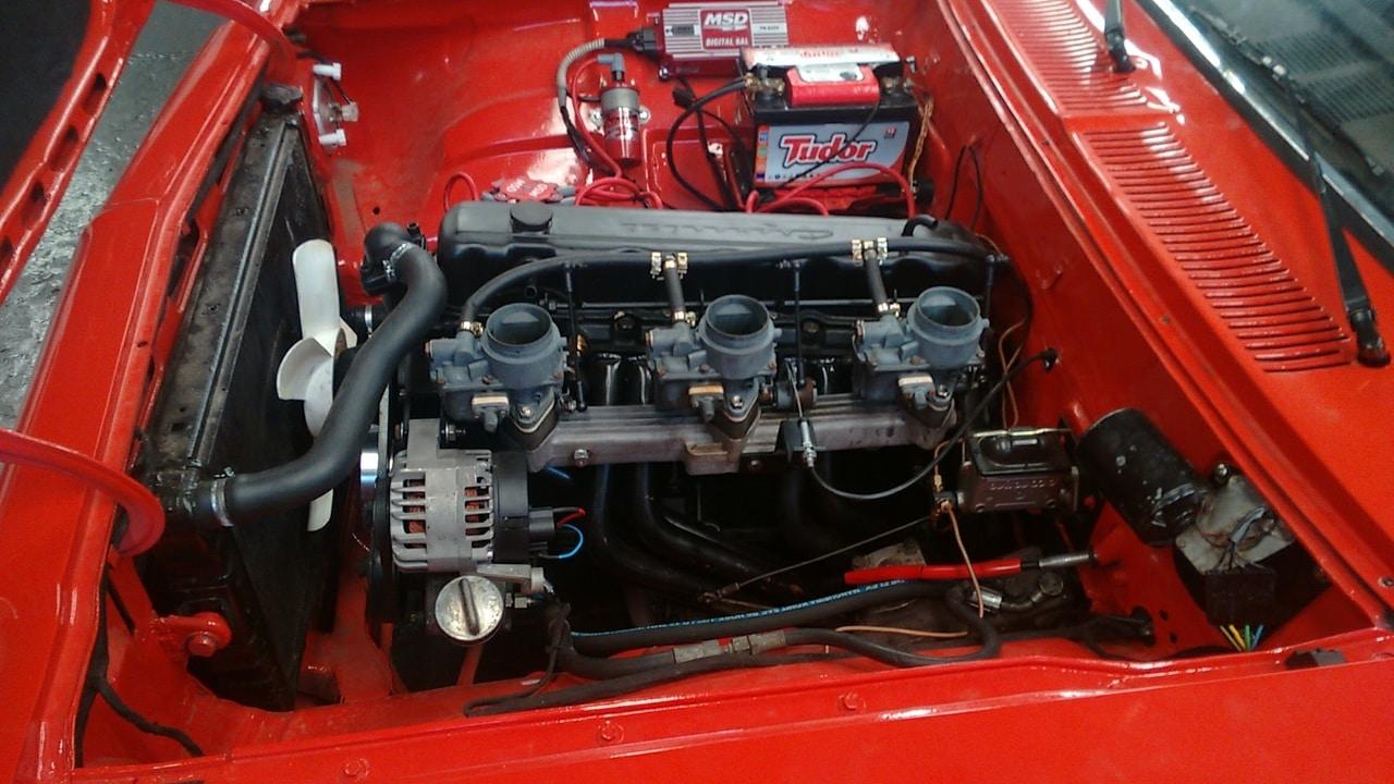 Troco tripla de H40  por uma Weber 44 ou quadrijet Opala_motor