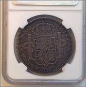 8 Reales 1821 Ga (Guadalajara)FS ,FERNANDO VII Image