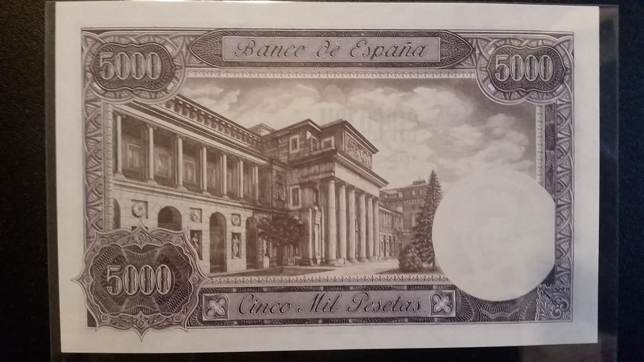 Colección de billetes españoles, sin serie o serie A de Sefcor pendientes de graduar 20161217_123418