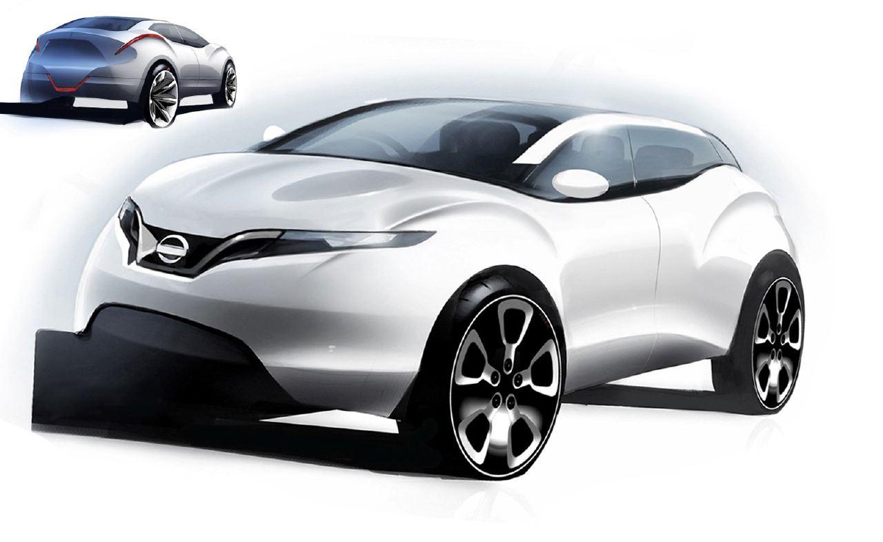 [Présentation] Le design par Nissan / Infiniti Nissan_qashqai_sketch_12