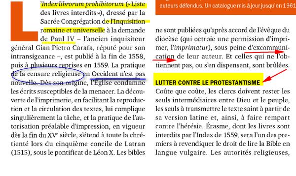 Livres Interdits Par Catholicisme Image