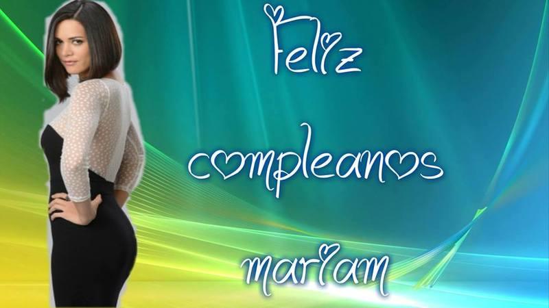 Happy Birthday Dear Mariam !!! 60yku