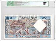 100 Nouveaux Francs, Algeria 1960 Algeria_P121b_100_nouveaux_francs_1960_ICG_40