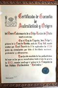 8 reales tipo COLUMNARIO Felipe V , ceca de México 1740. 68463993