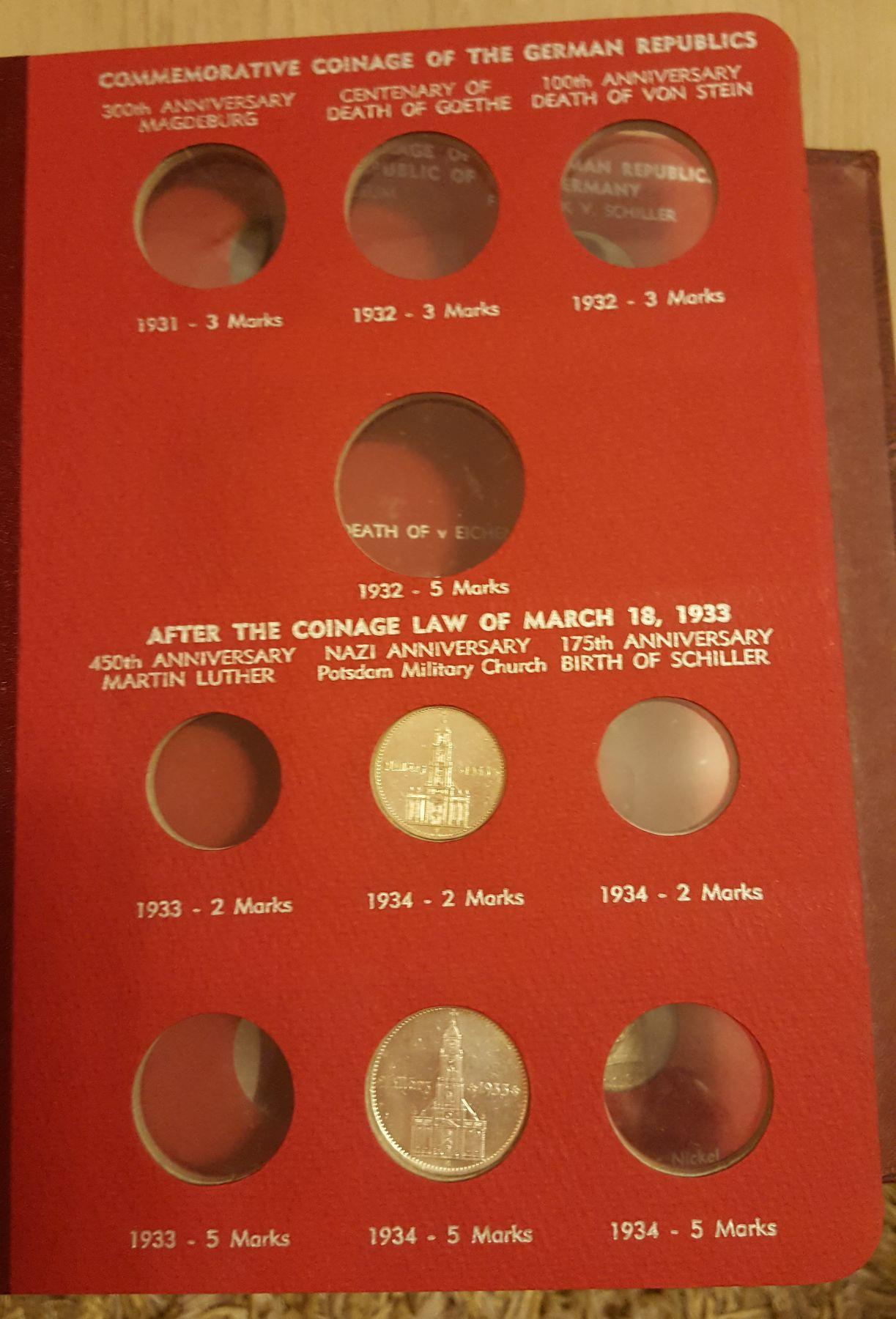 Monedas Conmemorativas de la Republica de Weimar y la Rep. Federal de Alemania 1919-1957 20170406_082443
