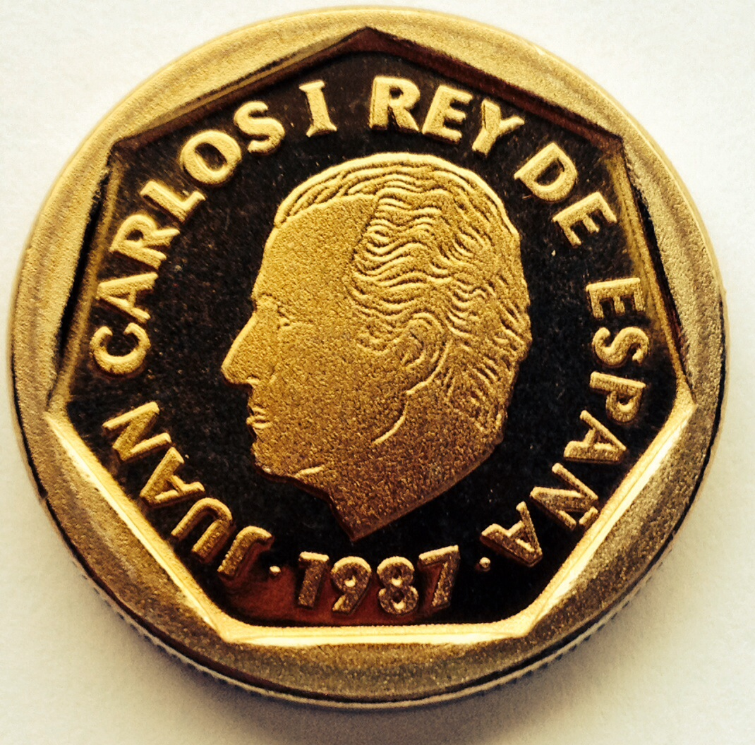 200 pesetas 1987 E-87 Juan Carlos I Image