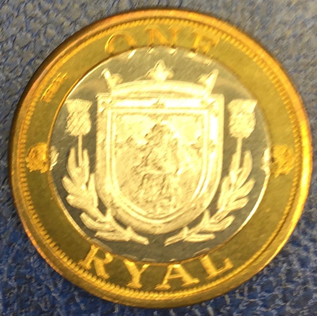 Monedas de lo que pudo ser una Escocia independiente IMG_4399