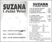 Suzana Jovanovic - Diskografija 1996_uz