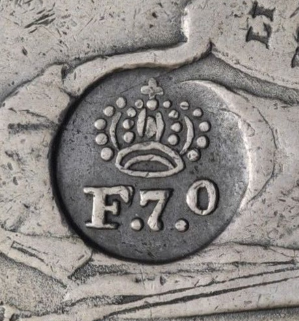 8 REALES FILIPINAS RESELLO FERNANDO VII ¿AUTENTICO? Image