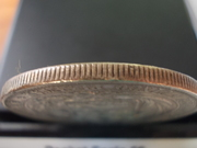 5 Pesetas de 1.880 , Perú DSCN1416