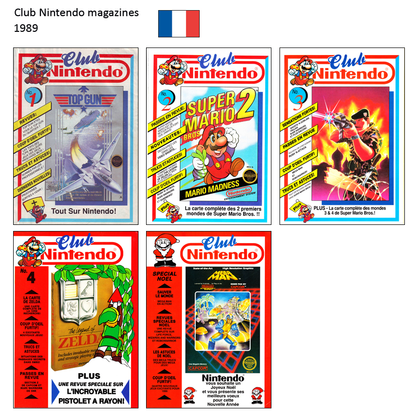"Magazine ""Club Nintendo"" 1989"