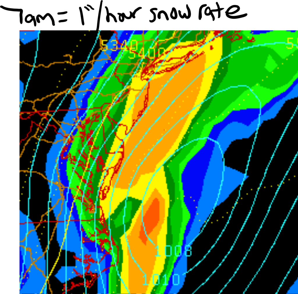 """02/05 """"Surprise"""" Storm Obs. / Final Call Snow Map Woof"""