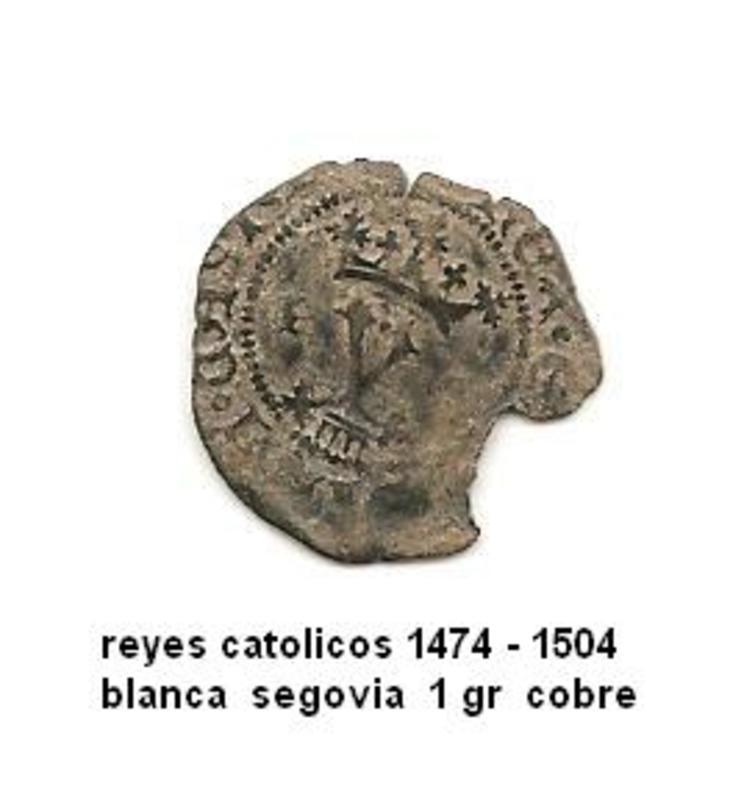 Blanca a nombre de los Reyes Católicos Image