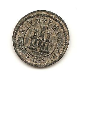 1 maravedí de Felipe II de 1598. Segovia. Image