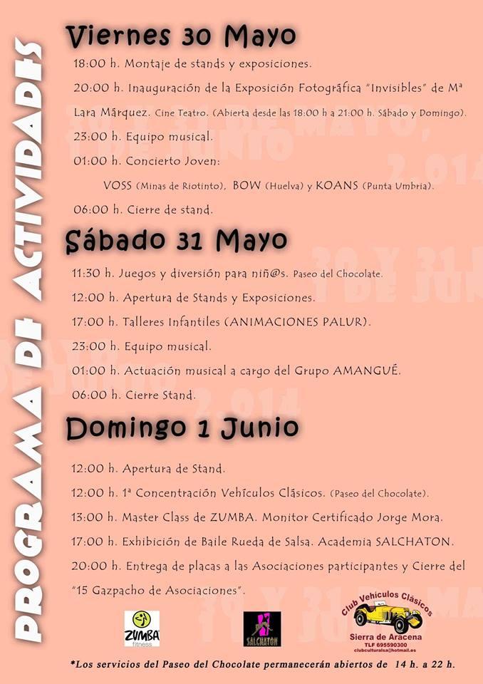 NUEVOS EVENTOS JUNIO 2014 Feria_programa