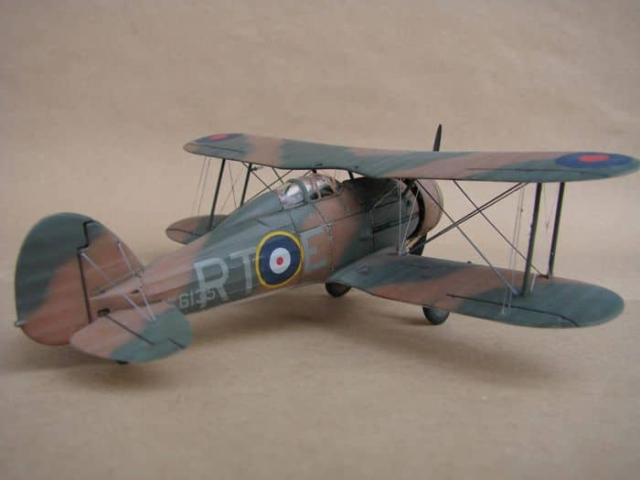 Gloster Gladiator Mk.I, Matchbox/Revell, 1/72 DSC03057