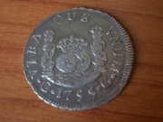 2 Reales Fernando VI ceca de Guatemala  1.755   DSCN0813