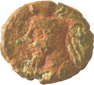 Æ Dracma. Orodes V y la Reina Ulfan. Reino Elymaida. ca 190 d.C. 216