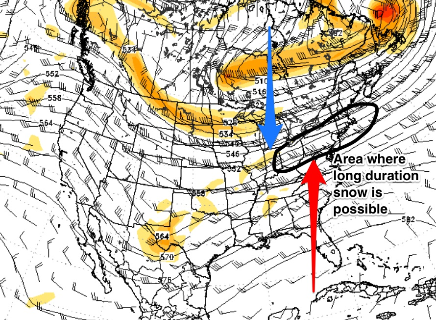 March 2nd-4th Potential Snowstorm  Image